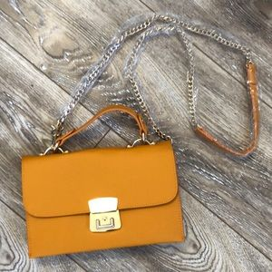 Handbags - Brand New Mustard Yellow Crossbody Bag